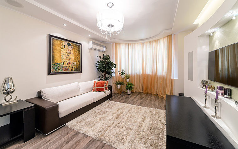 Фото № 52849 гостиная  Квартира