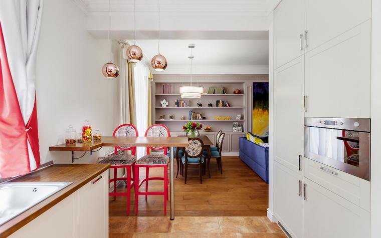 Квартира. кухня из проекта , фото №52806