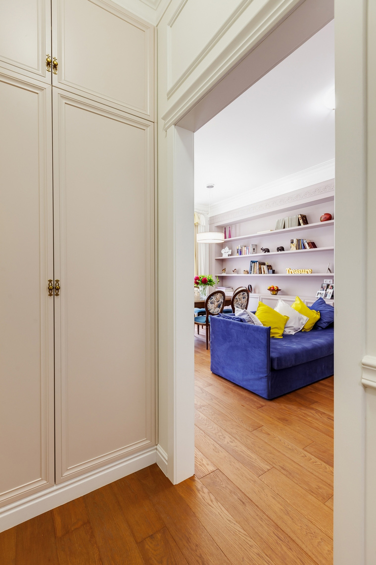 Квартира. гостиная из проекта , фото №52803