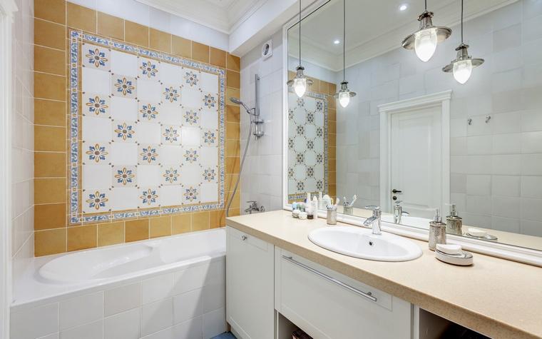 Квартира. ванная из проекта , фото №52812