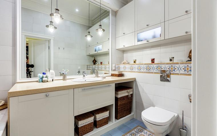 Квартира. ванная из проекта , фото №52811