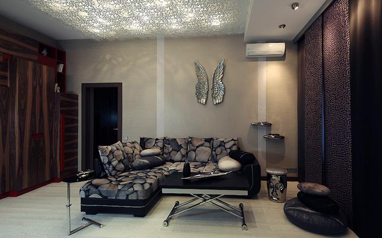 Фото № 52928 гостиная  Квартира