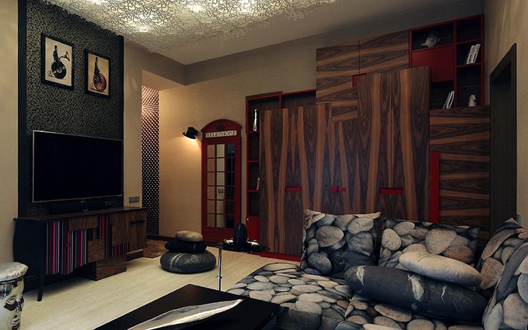 Фото № 52934 гостиная  Квартира