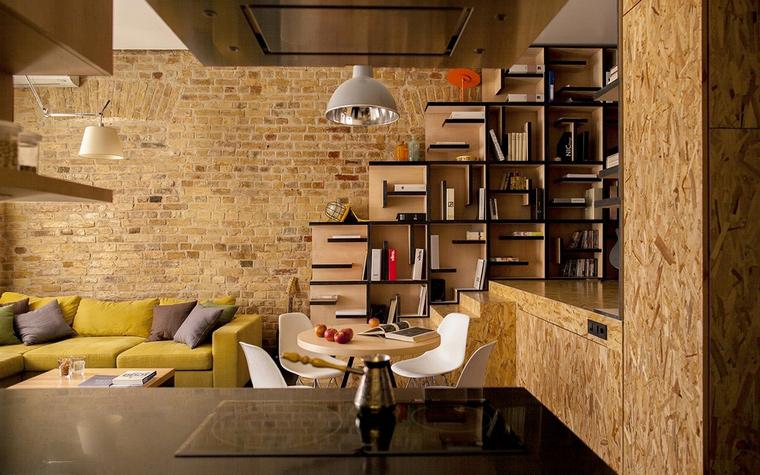 20 интерьеров гостиных с лестницей