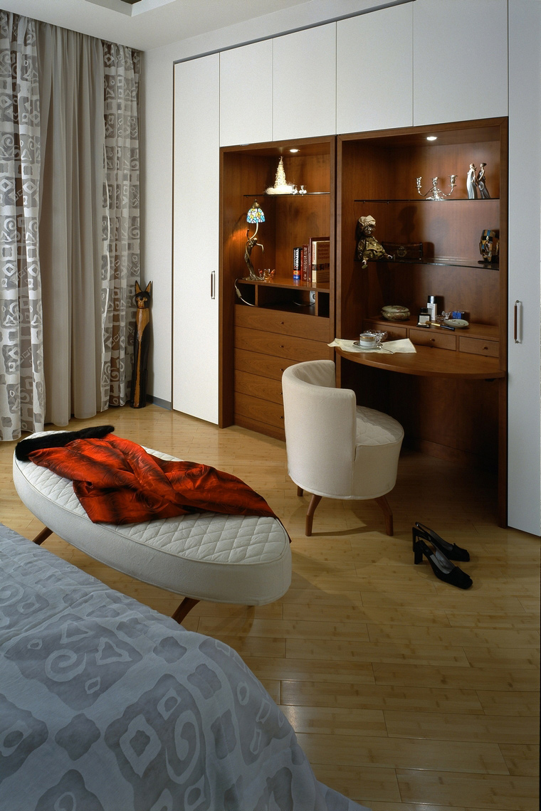 интерьер спальни - фото № 53113