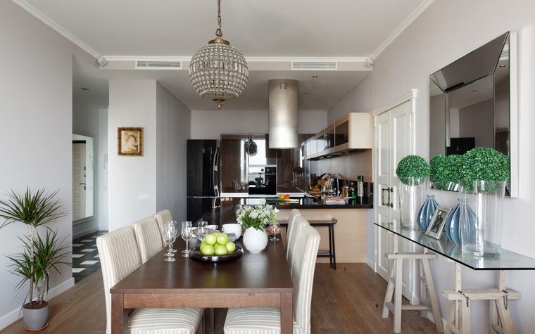 Квартира. столовая из проекта , фото №53132