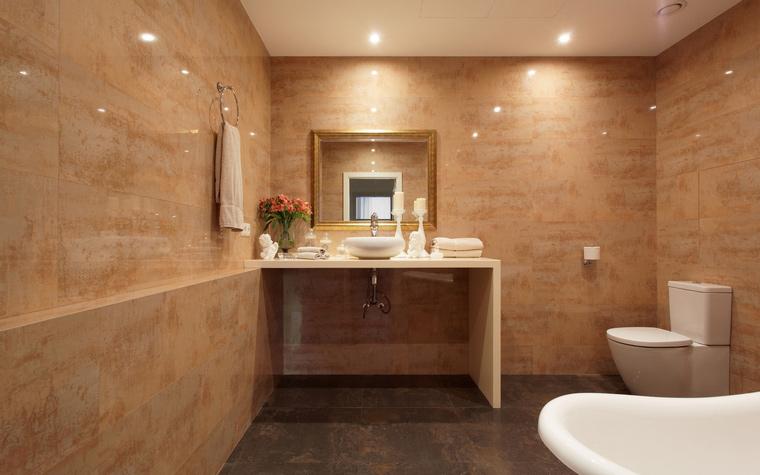 Квартира. ванная из проекта , фото №53139