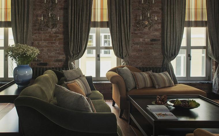 Фото № 53145 гостиная  Квартира