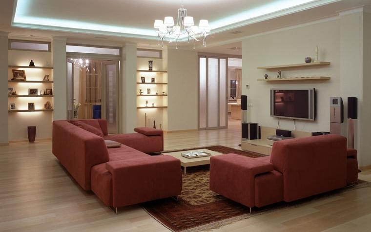 Фото № 53170 гостиная  Квартира
