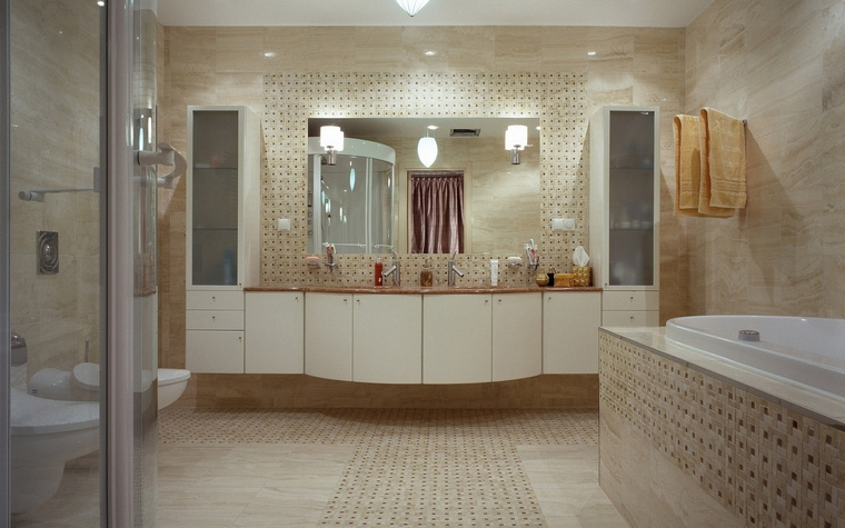 Фото № 53176 ванная  Квартира