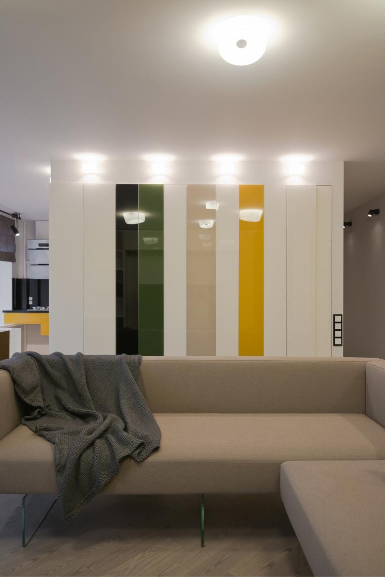 Квартира. гостиная из проекта , фото №53218