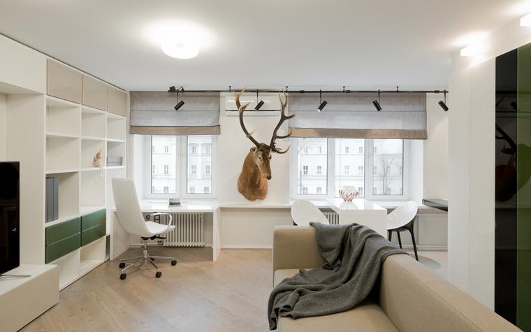 Квартира. гостиная из проекта , фото №53207