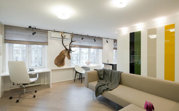 Квартира. гостиная из проекта , фото №53208