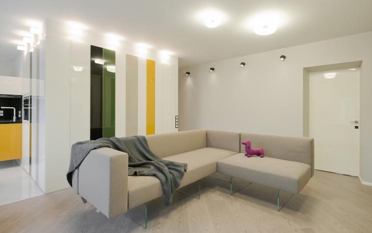Квартира. гостиная из проекта , фото №53209