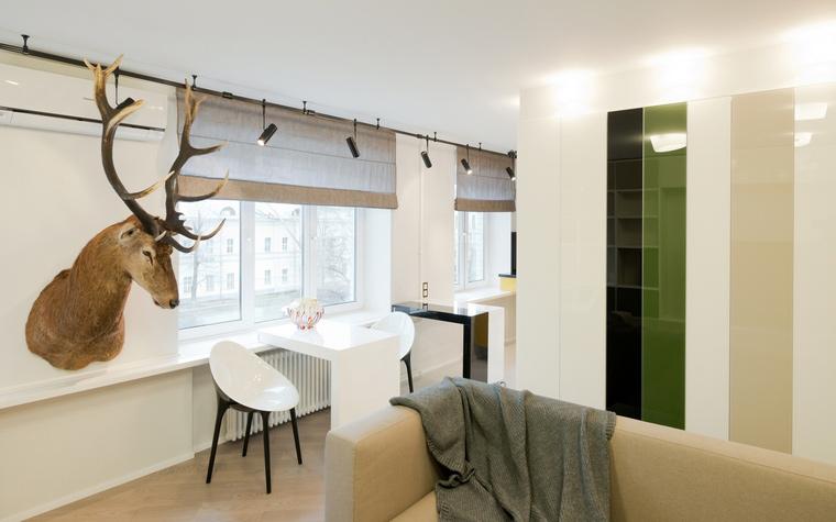 Квартира. гостиная из проекта , фото №53212
