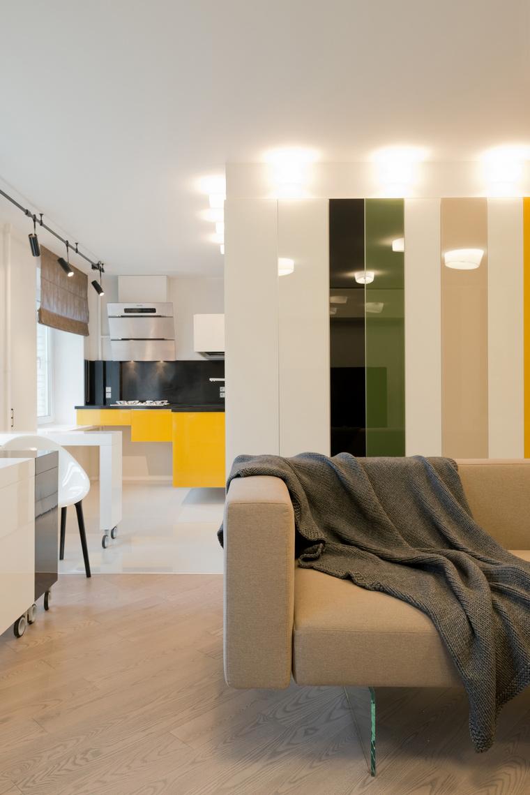Квартира. гостиная из проекта , фото №53216