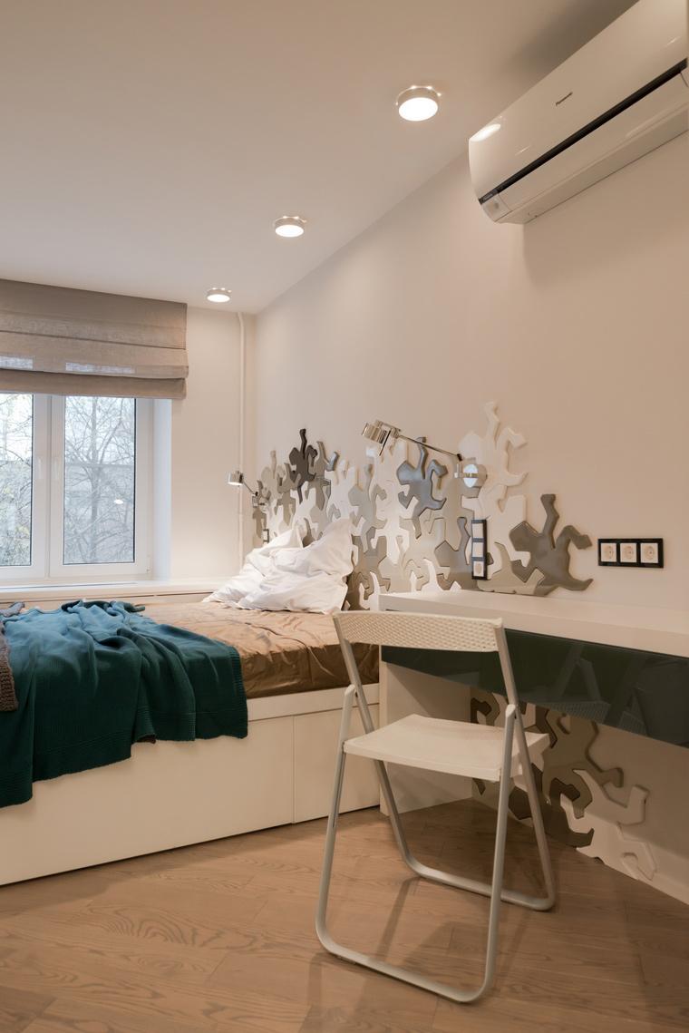 Квартира. спальня из проекта , фото №53233