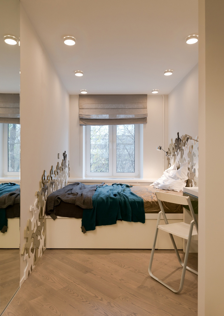 Квартира. спальня из проекта , фото №53234