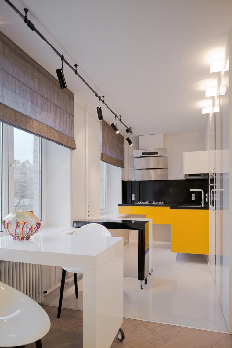 Квартира. кухня из проекта , фото №53255