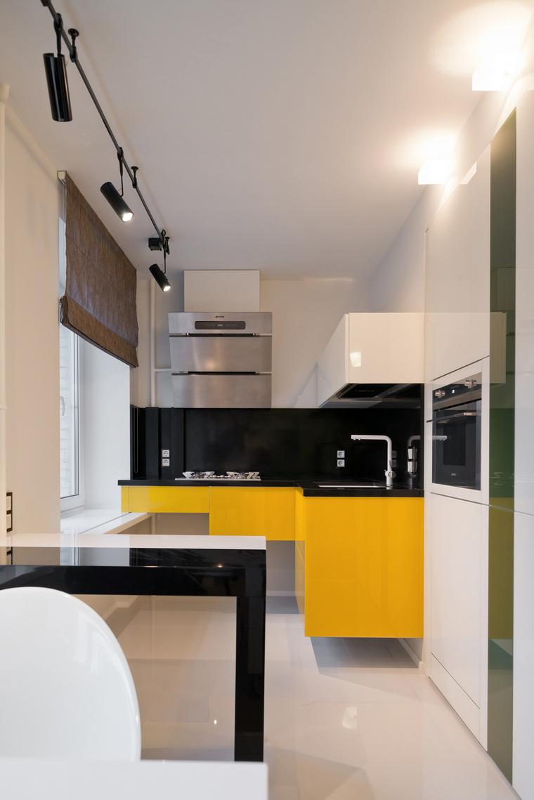 Квартира. кухня из проекта , фото №53256