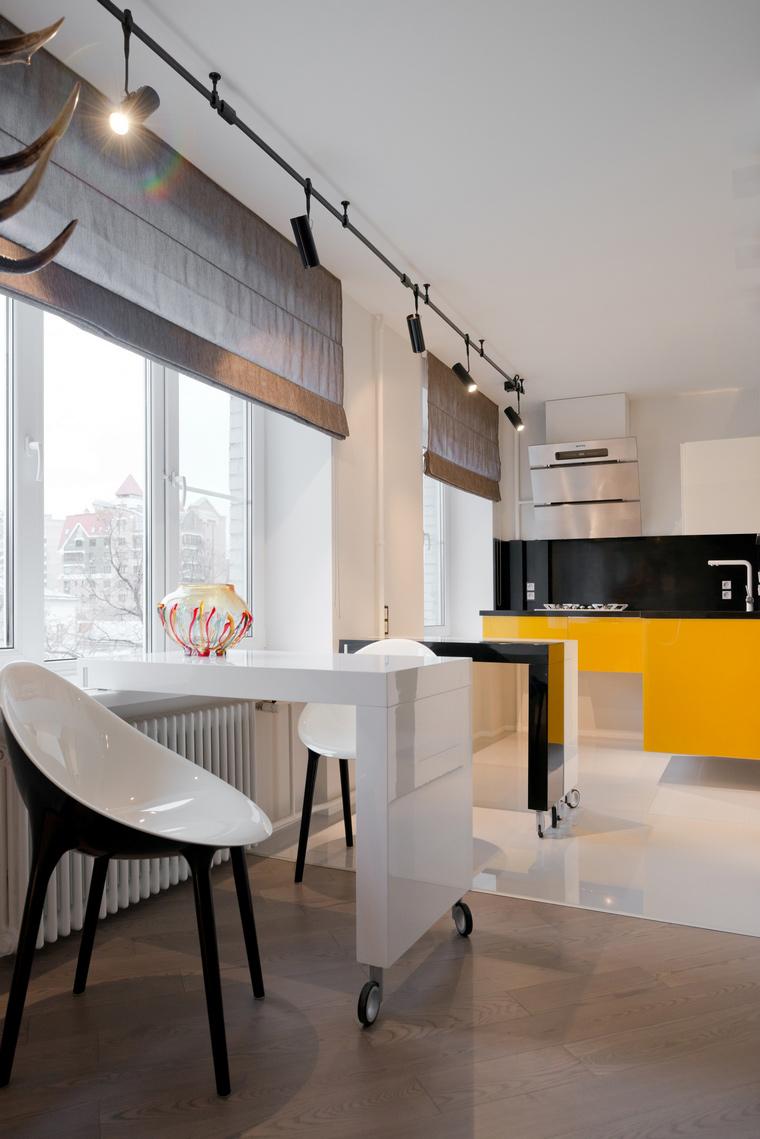 Квартира. кухня из проекта , фото №53258