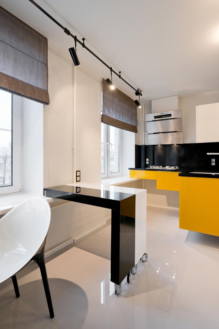 Квартира. кухня из проекта , фото №53251