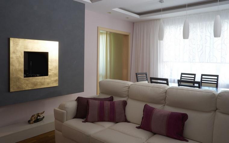 интерьер гостиной - фото № 53259