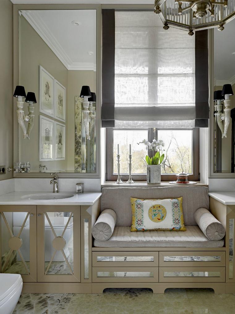интерьер ванной - фото № 53290