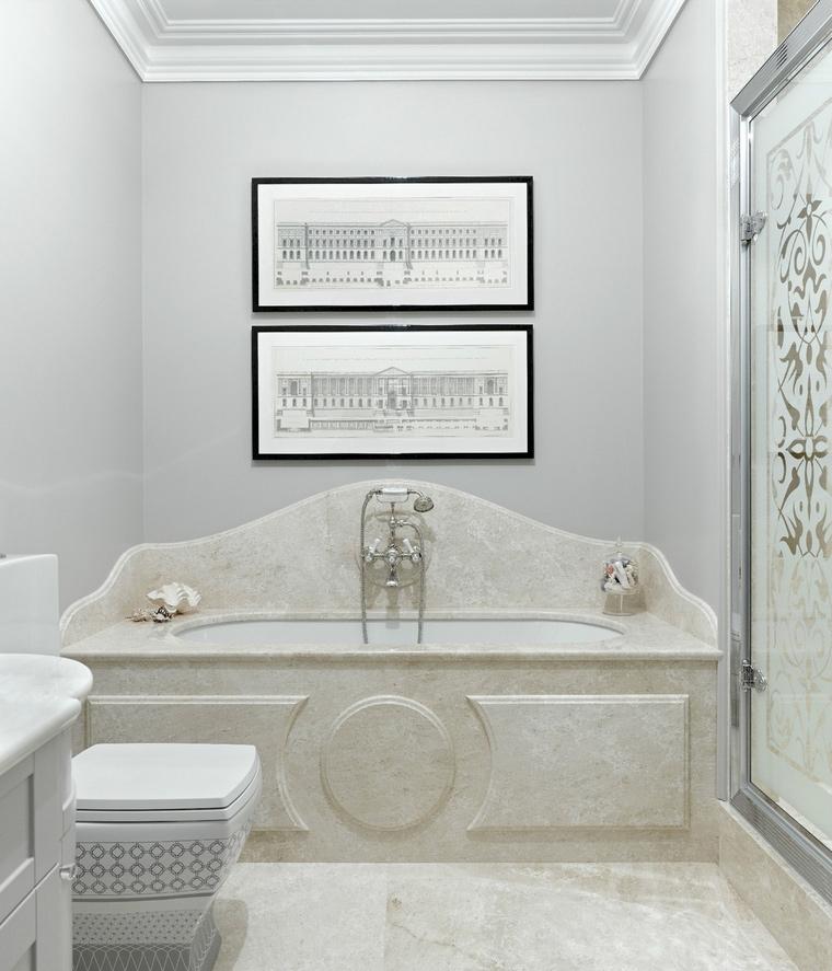 Квартира. ванная из проекта , фото №53294