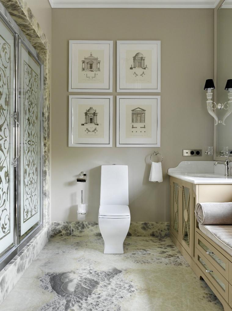 интерьер ванной - фото № 53293