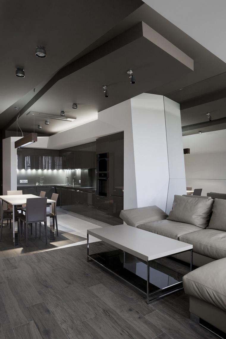 интерьер гостиной - фото № 53323