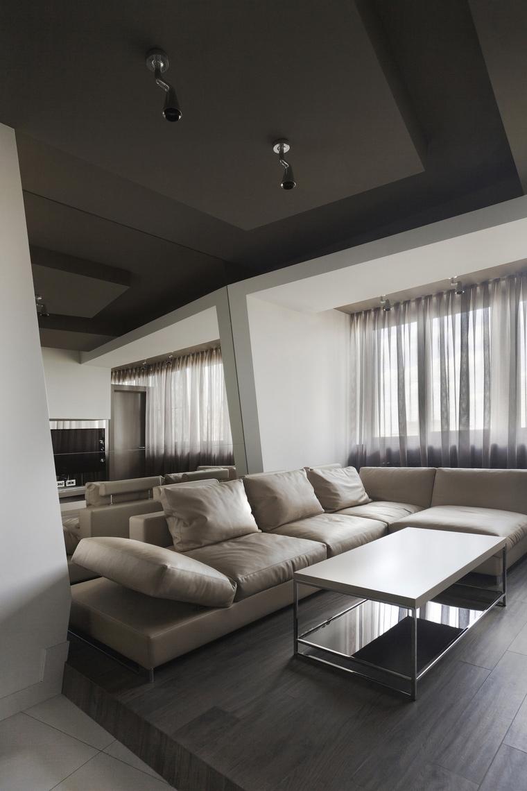 интерьер гостиной - фото № 53324