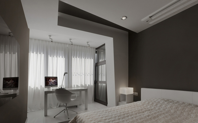 интерьер спальни - фото № 53339