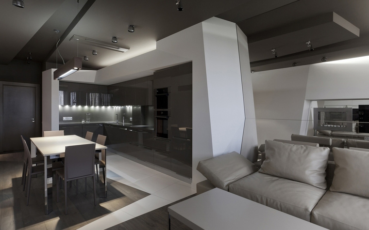 интерьер гостиной - фото № 53322