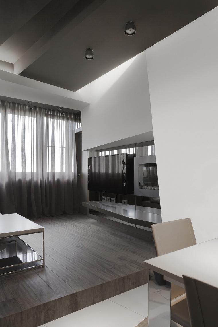 интерьер гостиной - фото № 53326