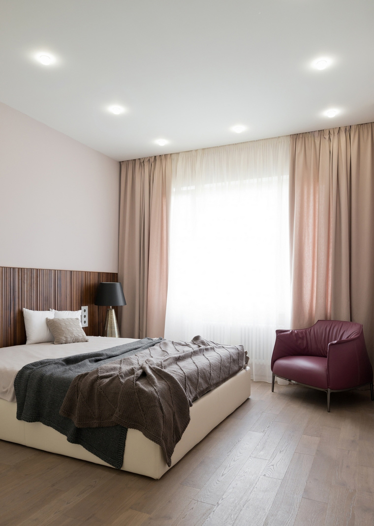 интерьер спальни - фото № 53356