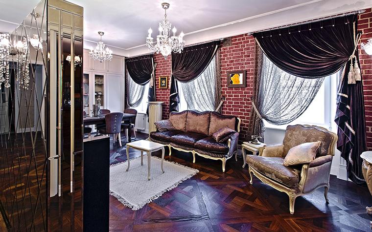 Фото № 53398 гостиная  Квартира