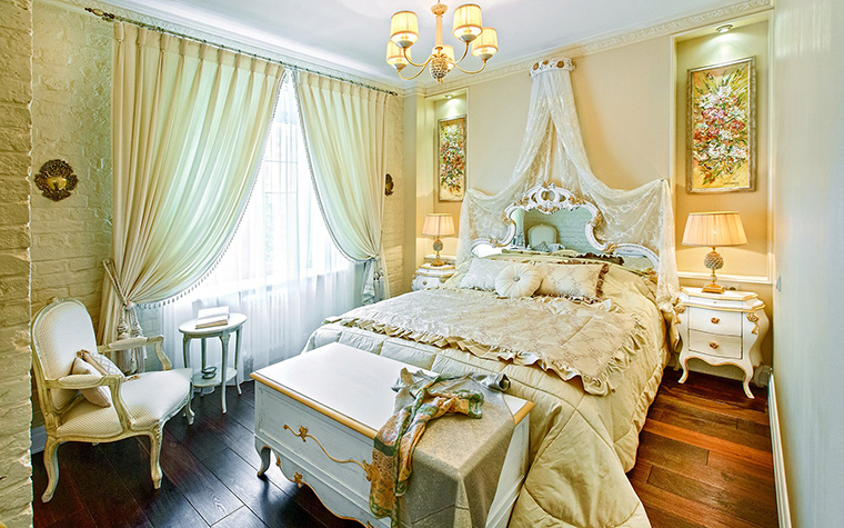 интерьер спальни - фото № 53402
