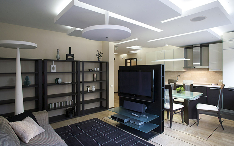 Квартира. гостиная из проекта , фото №53675