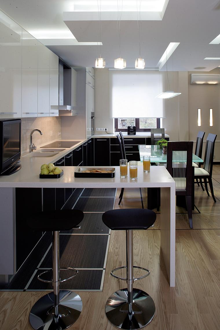 Квартира. кухня из проекта , фото №53676