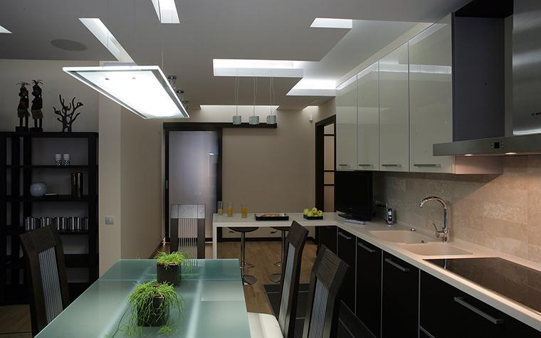 Квартира. кухня из проекта , фото №53677