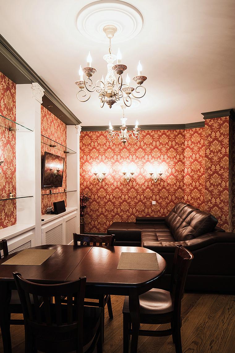Фото № 53808 гостиная  Квартира