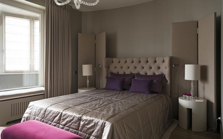 Квартира. спальня из проекта , фото №53967