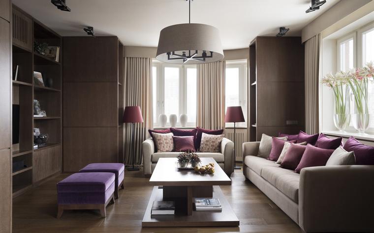 Квартира. гостиная из проекта , фото №53955