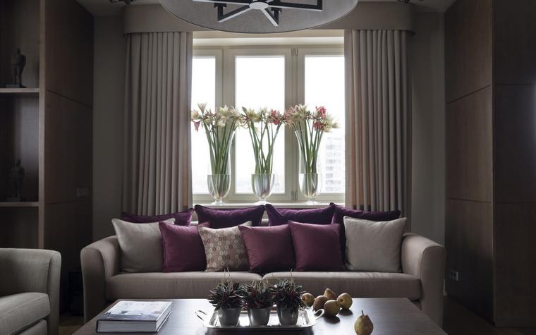 интерьер гостиной - фото № 53957