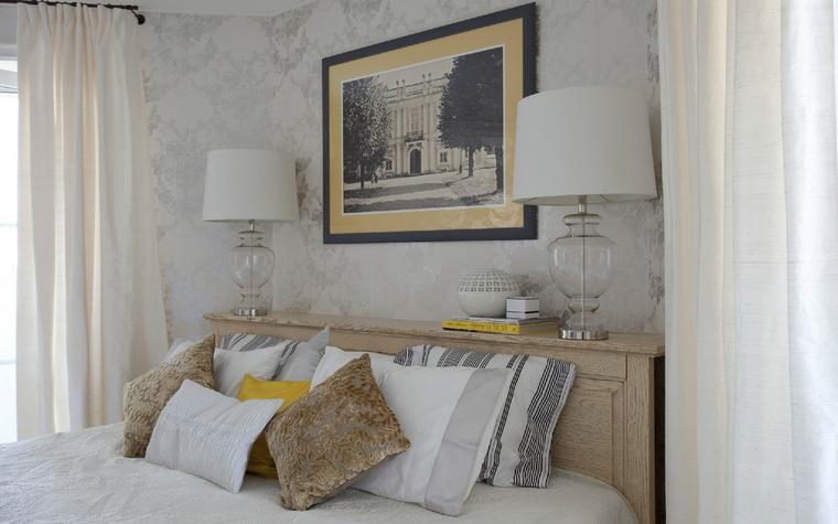 Квартира. спальня из проекта , фото №54007