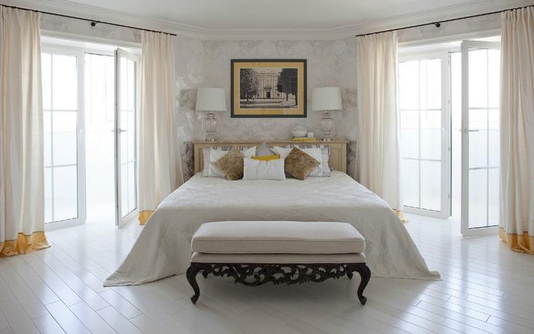 Квартира. спальня из проекта , фото №54008