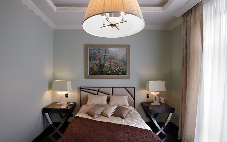 интерьер спальни - фото № 54117