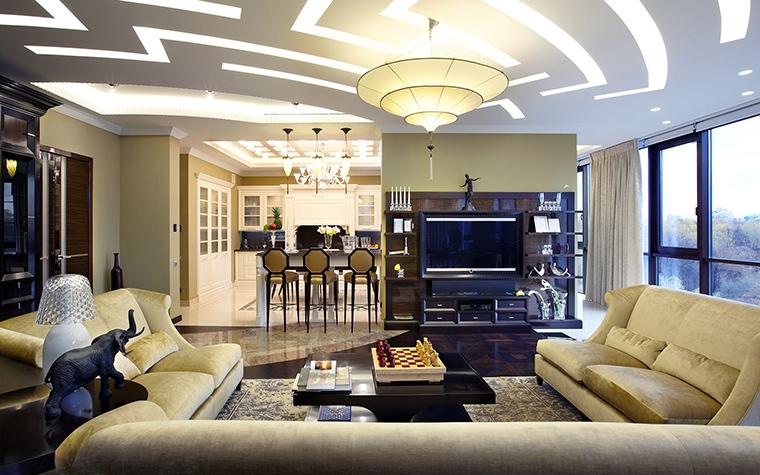 Фото № 54107 гостиная  Квартира