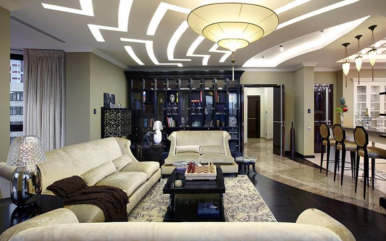 Фото № 54108 гостиная  Квартира